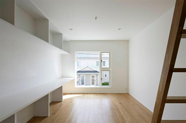 池田雪絵建築設計事務所によるコミュニティも1人でも過ごせる光が明るくデザイナーズでおしゃれな東京の賃貸住宅_4