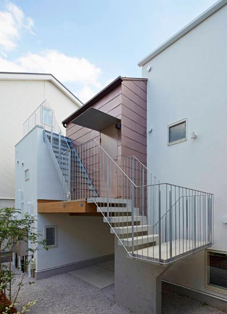 池田雪絵建築設計事務所によるコミュニティも1人でも過ごせる光が明るくデザイナーズでおしゃれな東京の賃貸住宅_7