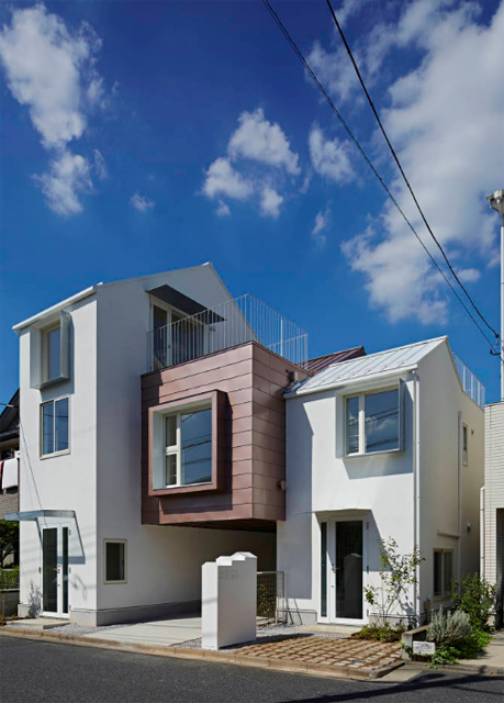 池田雪絵建築設計事務所によるコミュニティも1人でも過ごせる光が明るくデザイナーズでおしゃれな東京の賃貸住宅_1