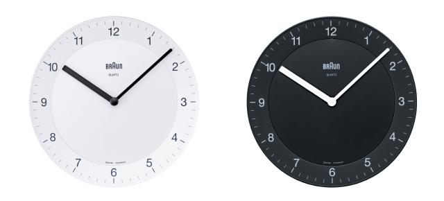 電動歯ブラシや電気シェーバーで有名なBRAUN(ブラウン)が作ったミニマルでシンプルな時計1