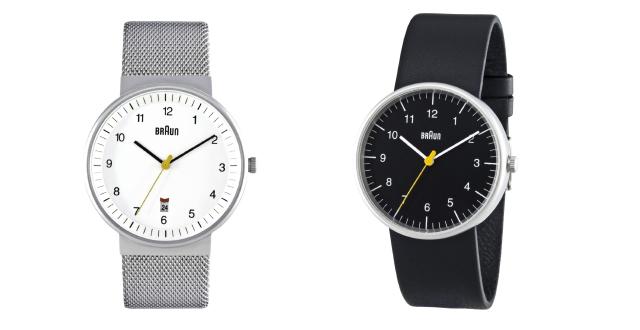 電動歯ブラシや電気シェーバーで有名なBRAUN(ブラウン)が作ったシンプルで便利な腕時計