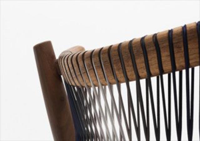 ロンドンの家具作り集団H Furnitureが手掛けるLOOMは織り機をイメージしてつくられた色が美しい変わった家具