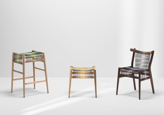 ロンドンの家具作り集団H Furnitureが手掛けるLOOMは織り機をイメージしてつくられた家具1