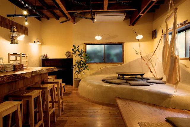 箱根の強羅にある古旅館を改装してオープンした温泉宿HAKONE TENT4