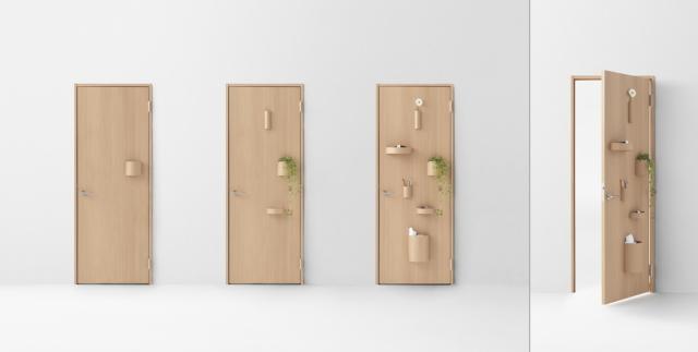 デザイン会社nendoが阿部興業の70周年を記念して制作した7種類のドア_2