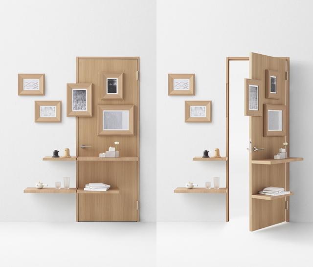 デザイン会社nendoが阿部興業の70周年を記念して制作した7種類のドア_1