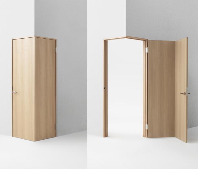 デザイン会社nendoが阿部興業の70周年を記念して制作した7種類のドア_7