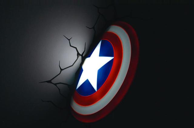 ニューヨークの漫画出版社であるMARVELが生んだ、最強のヒーロー集団アベンジャーズより、アイアンマン、スパイダーマン、キャプテン・アメリカ、マイティ・ソー、ハルクをそれぞれランプにしてみました_5
