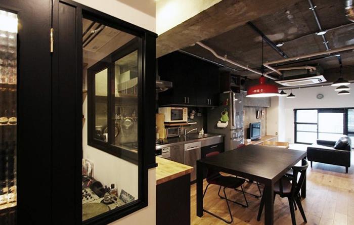 nu(エヌ・ユー)リノベーションによるニューヨークのようにかっこいいビンテージマンションのリノベ_13