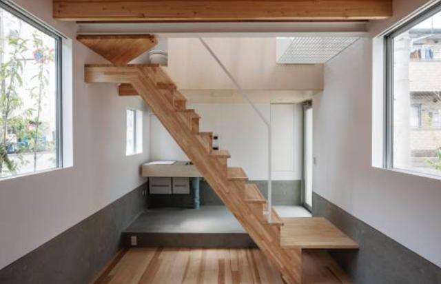 Umbre Architectsによる東京のメゾネットのデザイナーズでかっこいい賃貸住宅_2