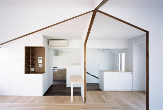 富永大毅建築都市計画事務所によるまだ小さい子どもの部屋をどうするかを解決した素敵なリノベマンション_2
