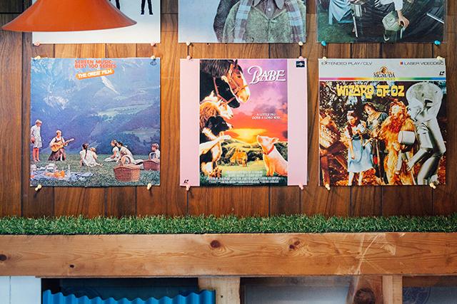 杉並区で、思い出を引き継ぐアートで秘密基地のようなセルフリノベーションのレコードやLP