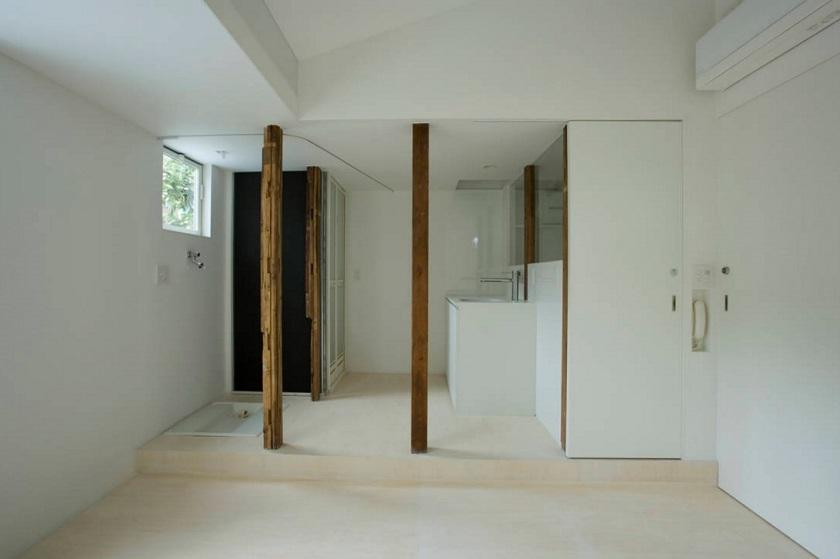池田雪絵建築設計事務所による、東京都中野区の増築を重ねた木造2階建てのアパートのリノベーション_3