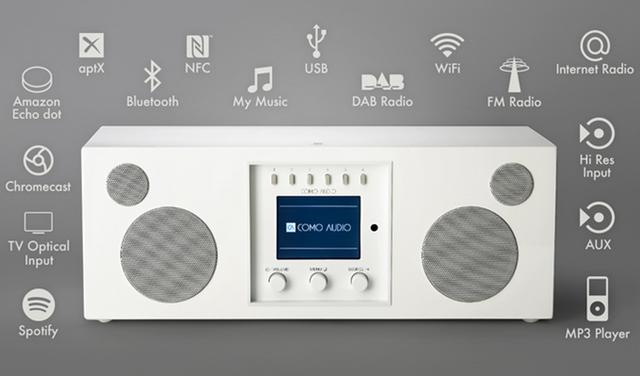 BluetoothやWi-Fiやハイレゾ対応のスマートで高音質でかっこいいオーディオ_4