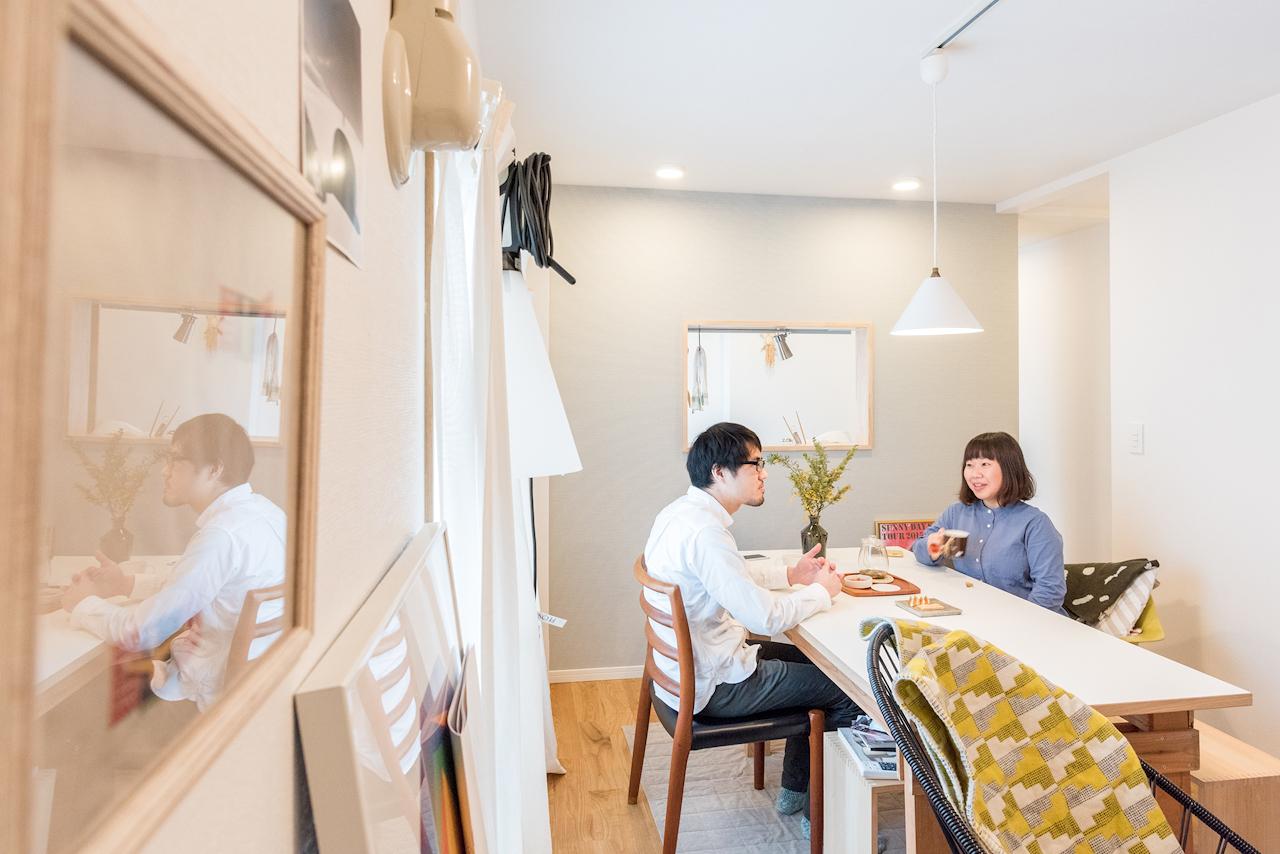 無垢材リノベーションであるgood roomのTOMO'Sに暮らすセンスが良くおしゃれなインテリアの部屋_4