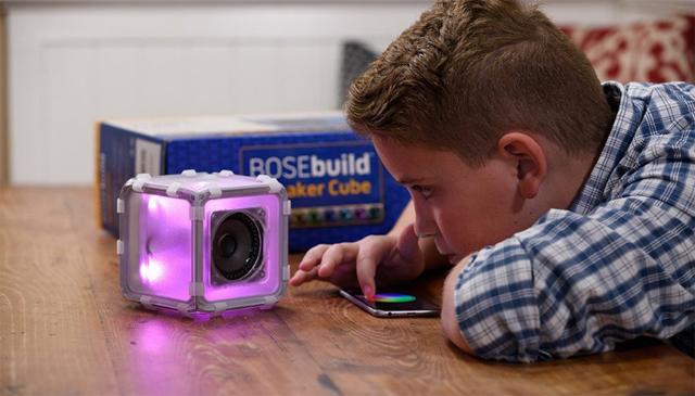 boseが制作したbluetoothスピーカーの自作キットは、知育おもちゃとしての機能も高く夏休みの自由研究にピッタリ4