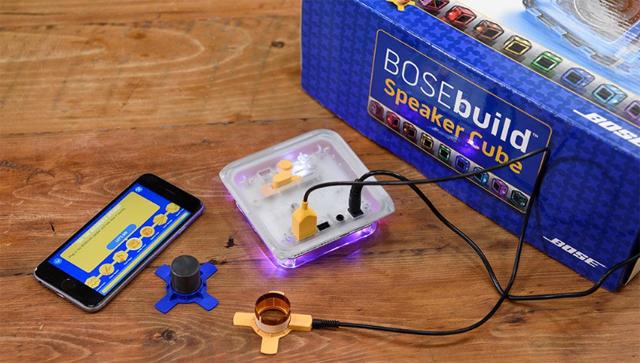 boseが制作したbluetoothスピーカーの自作キットは、知育おもちゃとしての機能も高く夏休みの自由研究にピッタリ1