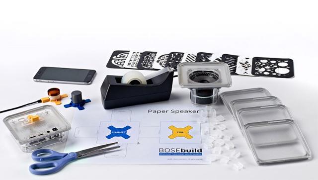 boseが制作したbluetoothスピーカーの自作キットは、知育おもちゃとしての機能も高く夏休みの自由研究にピッタリ3