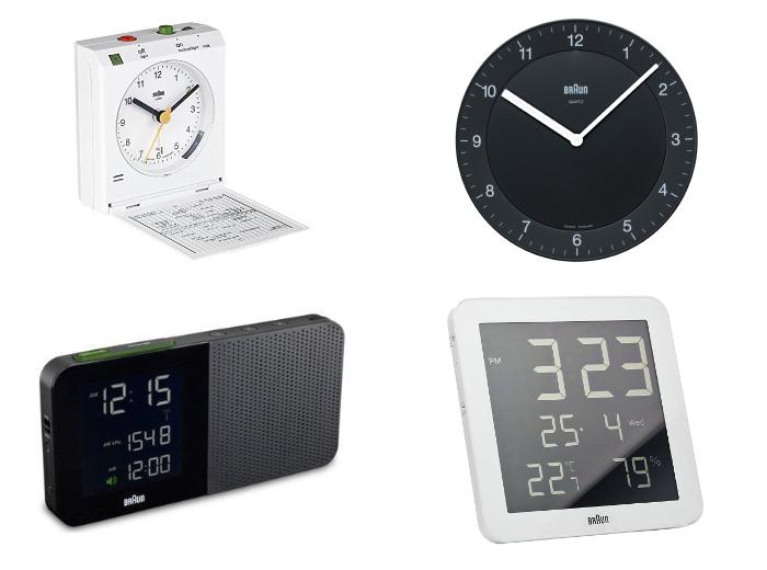 電動歯ブラシ、電動シェーバーなどで有名なあのブラウンの時計のコレクションはミニマリスト好みなデザインで、機能的なものもあり、実用性の高い時計