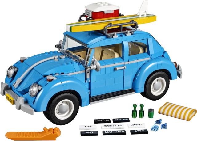 レゴのワーゲンのおもちゃがかわいくておしゃれ_2