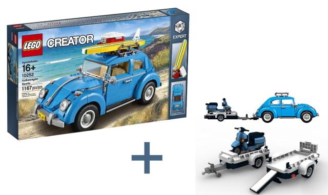 レゴのワーゲンのおもちゃがかわいくておしゃれ_1