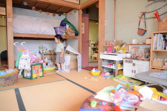 東京の立川でアートとクラフトに囲まれた古民家でおしゃれでナチュラルに暮らす家族_8