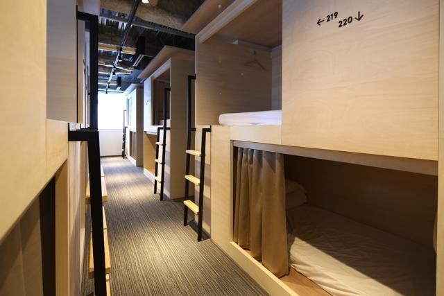東京を楽しむおしゃれで清潔で素敵なホステルである神楽坂のUNPLAN KAGURAZAKA_3