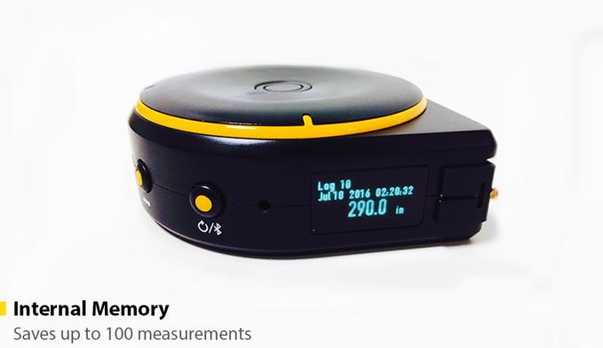 多機能なメジャー「Bagel」は「ヒモ」「タイヤ」「レーザー」3つの機能でなんでも測る他、Bluetoothでスマホと連動するので、いちいちメモを取る必要もありません。これひとつあれば、大抵のことはカバーできるし、買い物に行くときも便利6