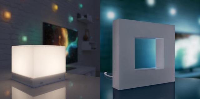 かっこよくておしゃれなテープ状のLEDLightpack2とキューブ状のPixelはテレビ、ゲーム、映画に合わせて光の演出をするガジェットで、これがあればダイナミックさと没入感が上昇するガジェットです2