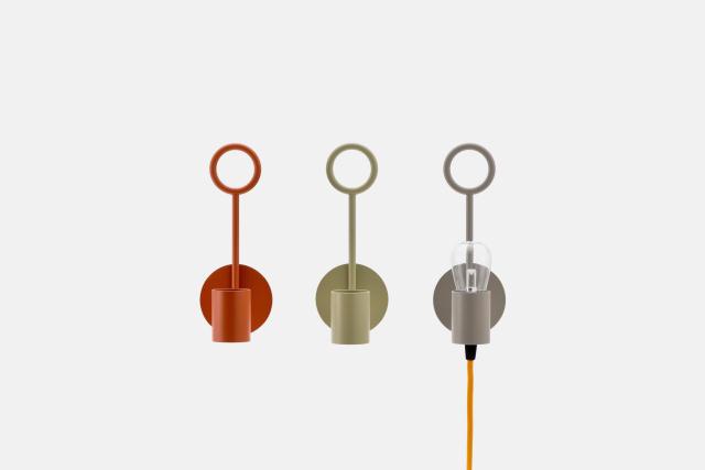 DoogdesignとHIGHTIDEが共同で制作した、本体、ケーブル、電球をコーディネートして、自分好みの照明にすることができる「pit.」はシンプルで上品な見た目なのでどんなインテリアにもフィットする一方で、ビビッドな色を組み合わせればアクセントとプラスする事もできます8