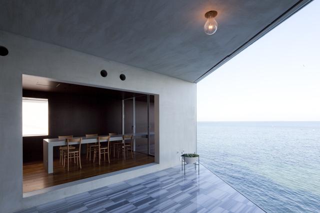 吉村靖孝建築設計事務所によるおしゃれな海沿いの貸し別荘Nowhere but Sajima_4