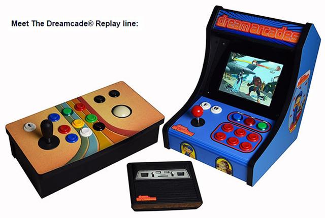 パックマン、ドンキーコングなど、時代が変わっても色褪せない名作ゲームを一台で遊べるゲーム機Dreamcade Replayは、シンプルな配線、ワイヤレスコントローラ、タッチスクリーンなどを搭載していて、レトロな見た目とは裏腹の高性能が話題です_5