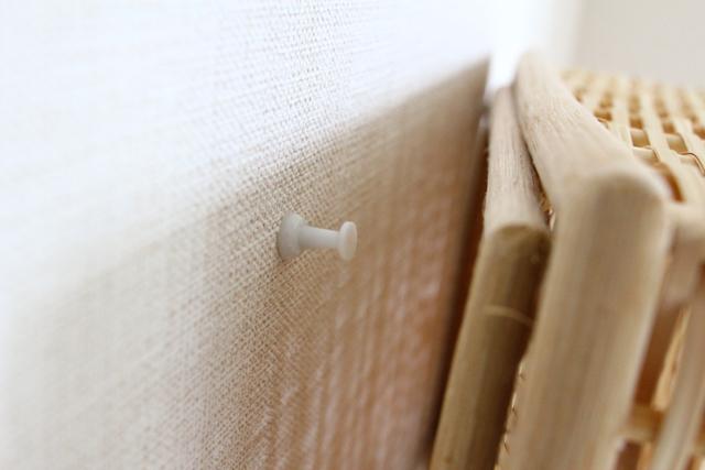 無印良品の重なるブリ材長方形ボックスを壁面収納に変えるライフハック2