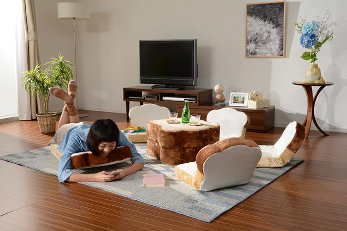 ラピュタパンみたいにかわいくておもしろい目玉焼き食パン座椅子_6