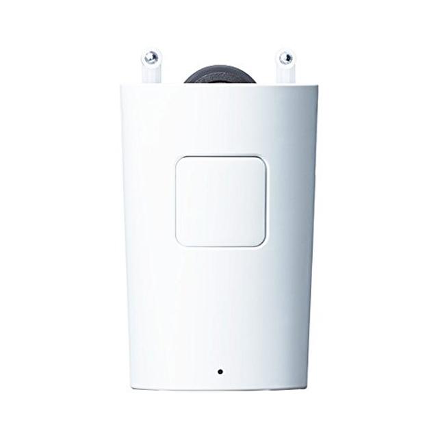 めざましカーテンmorninは、カーテンレールに取り付けてスマホと連動、タイマーをセットしておくだけで、カーテンを自動で開けてくれるガジェットです5