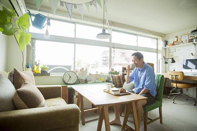 渋谷区の1960年代ビンテージマンションでおしゃれなインテリアに囲まれて二拠点居住しながら暮らすBOOKLUCK代表の山村光春さん_21