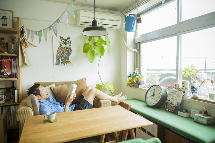 ビンテージマンションでおしゃれに暮らす山村光春さん
