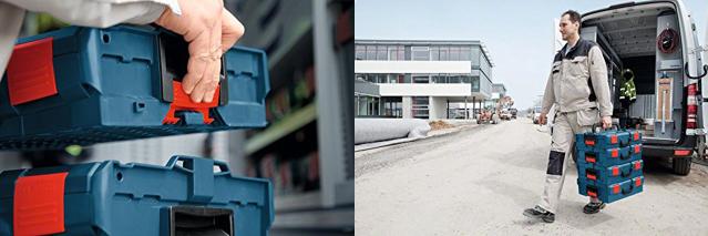 積み重ねられる、使いやすそうな構造のドイツ製ツールボックス「BOSCH L-BOXX」の紹介です2