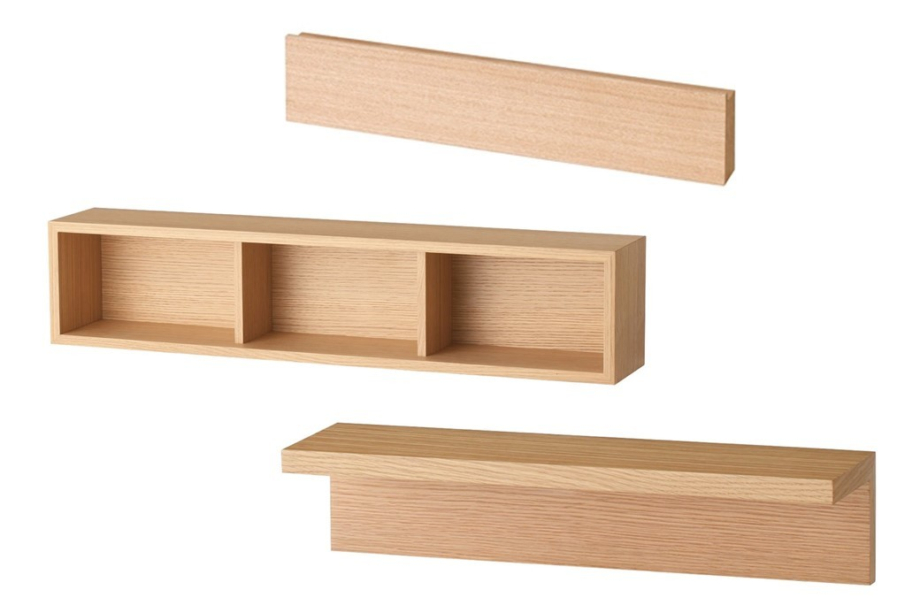 無印良品の壁にかけられる家具シリーズ