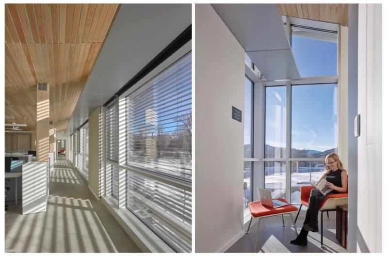 アメリカのRMI(ロッキー山脈研究所)は、マイナス15度でも暖房がまったく必要ないほど暖かいのだそう。考え尽くされた「太陽の熱を逃がさない」設計に注目です。省エネが叫ばれる現在、これからの家作りにも取り入れられるアイディアです。3