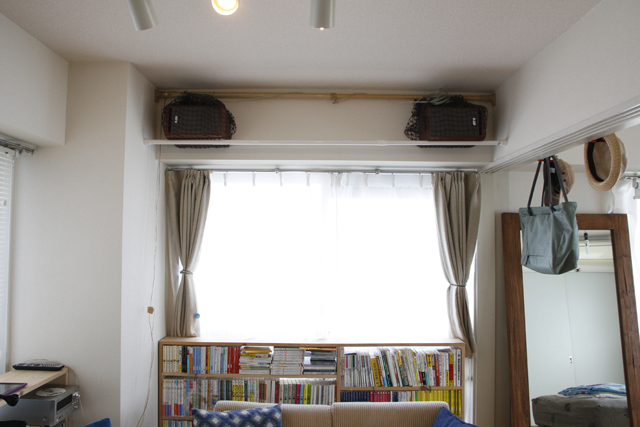読書と本当DIYにこだわるおしゃれなカップルの同棲部屋_6