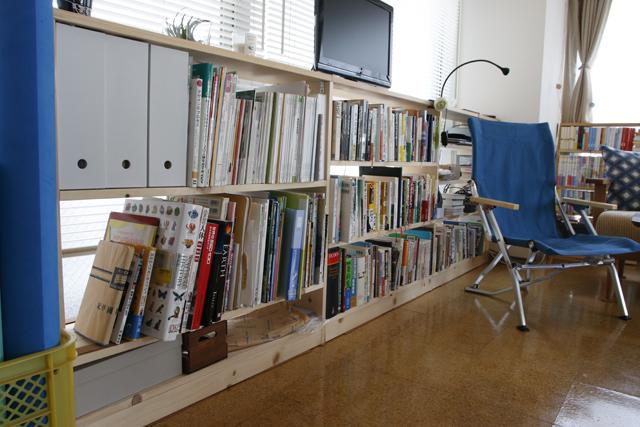 読書と本当DIYにこだわるおしゃれなカップルの同棲部屋_10