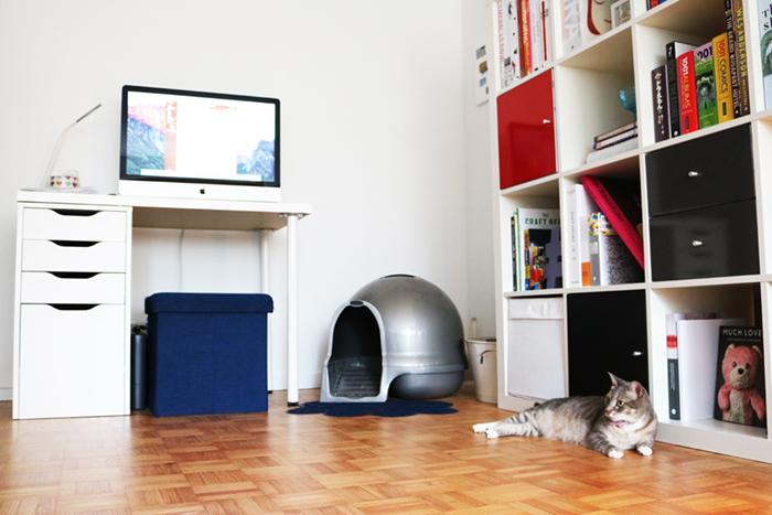 インテリア性が高く、しかも臭い漏れなどを防止するフィルター機能付きの猫用ハウス型トイレ、クリーンステップリッターボックスはアメリカの製品ですが、日本からもアマゾンで購入可能top