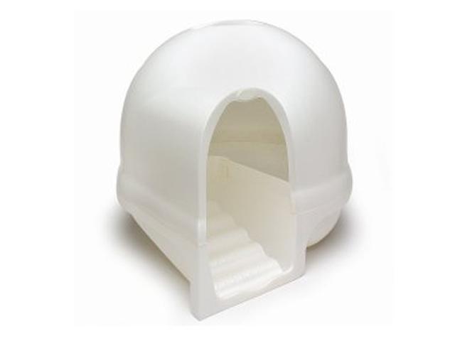 インテリア性が高く、しかも臭い漏れなどを防止するフィルター機能付きの猫用ハウス型トイレ、クリーンステップリッターボックスはアメリカの製品ですが、日本からもアマゾンで購入可能1