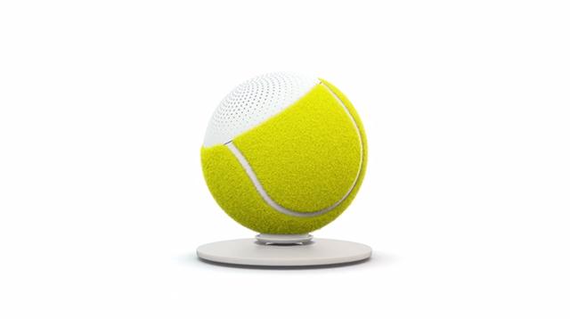 グランドスラムで使われているテニスボールの平均寿命は、なんと35分。そして一年間のボールの消費量23万個にも及びます。そうして消費されてしまった最高品質のボールに新しく命を吹き込むと、なんとワイヤレススピーカーになるんです。2