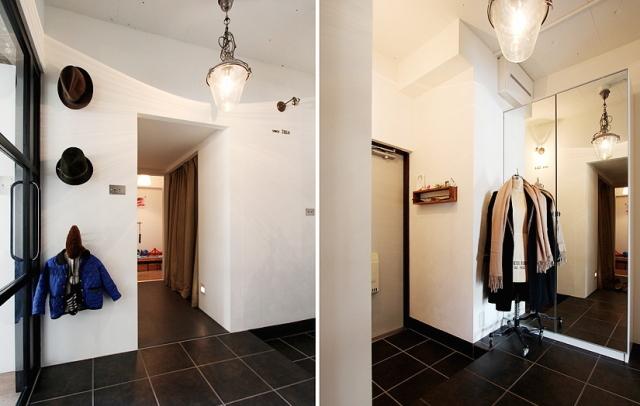 スケルトンによって自分の思い通りの広いリビング&キッチン空間を実現した杉並区のリノベーション事例「DRAFT」。無駄な動線と空間を省き、広さと自由度を重視したラフなコンセプトが生きたデザインです。5