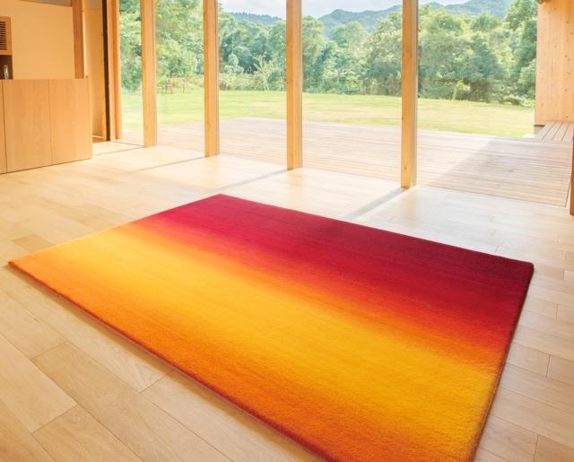おしゃれでかっこいい山形緞通と、建築家・隈研吾のコラボしてデザインしたじゅうたんやラグ_7