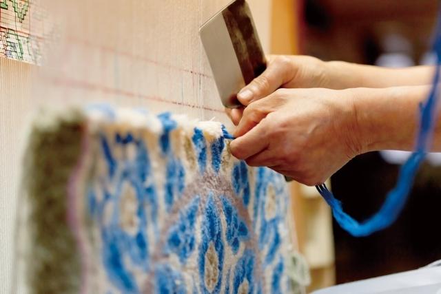 おしゃれでかっこいい山形緞通と、建築家・隈研吾のコラボしてデザインしたじゅうたんやラグ_2