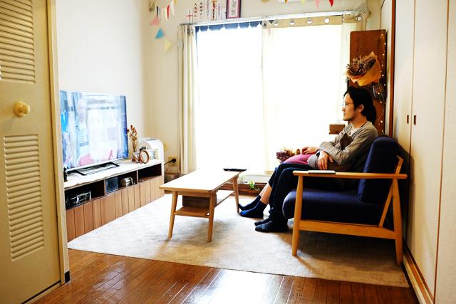 恵比寿の美容室RICCAで働く美容師であるサイトウジュンヤさん夫妻のおしゃれでロンドン仕込みのDIYが素敵な部屋_10