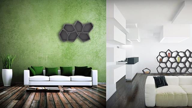 使い方は決められていない家具「BUILD modular furniture」のご紹介。どう使うかは、あなたの創造力次第です。通常家具の組み立てに使われている接着剤には、人体にとって有害な成分が含有されているのですが、「BUILD modular furniture」にはそれが含まれていないためより安全いなっています。5